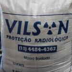 Proteção radiológica barita