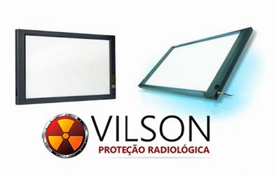 Negatoscópio Radiografia Nova Prata - Negatoscópio de Mesa