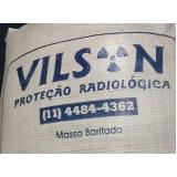 argamassa baritada de proteção radiológica valor Cianorte