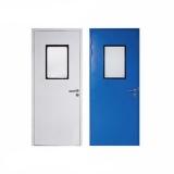 porta com proteção radiológica