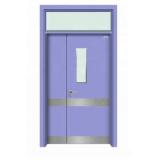 porta de proteção radiológica blindada