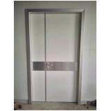 porta para proteção radiológica blindada