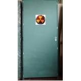 porta de chumbo para raio x