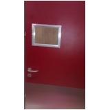 porta de proteção de sala de raio x
