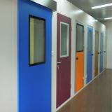 portas para sala de raio x