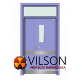 porta radiológica blindada de chumbo orçamento Maragogi