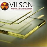visor radiológico proteção de radiografia